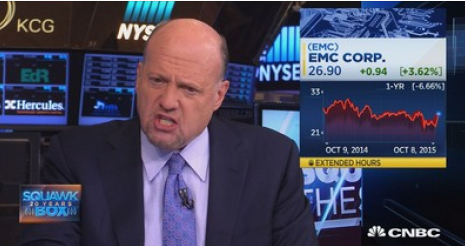 Cramer Talks About These Stocks EMC And COST