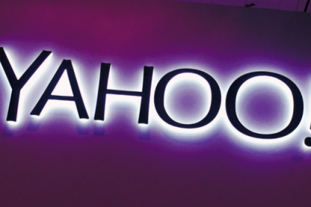 Yahoo shares spike