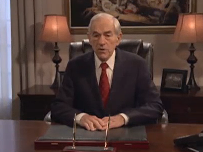 Dr. Ron Paul warns about the US economy