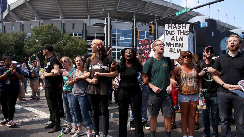 Charlotte protesters need gran's resignation over black colored man's slaying
