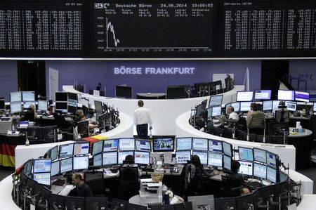 European shares move higher on powerful German, French PMIs; DAX up 0.83%
