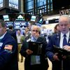 Nasdaq loses ground as heavyweights slump