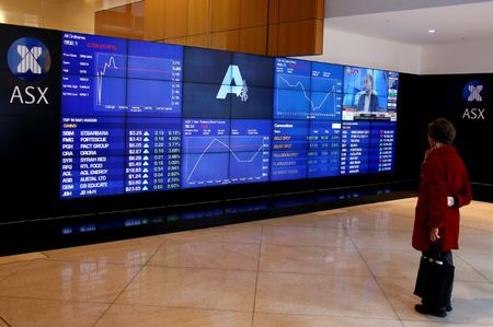 Australian continent stocks lower at close of trade; S&P/ASX 200 down 0.14percent